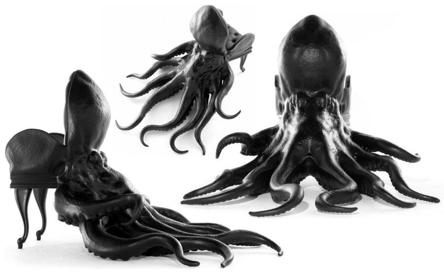 Стул-осьминог