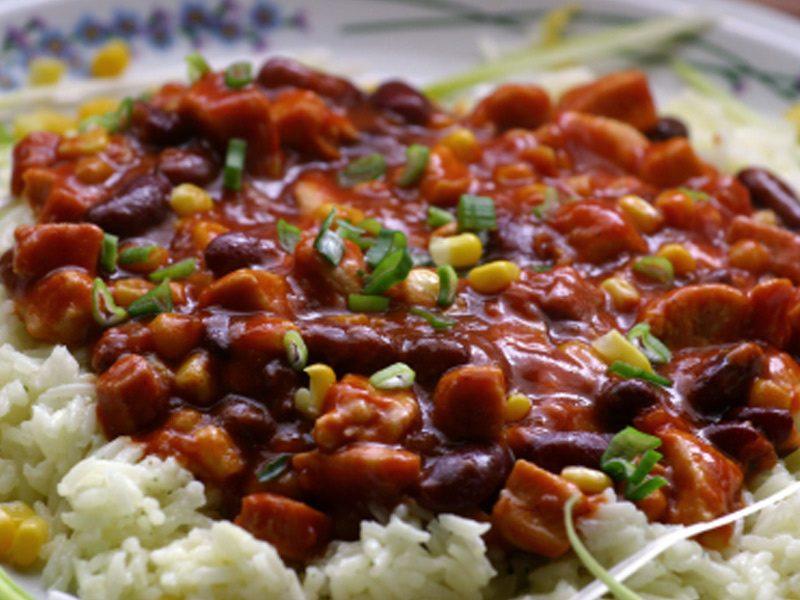 Рис и бобы