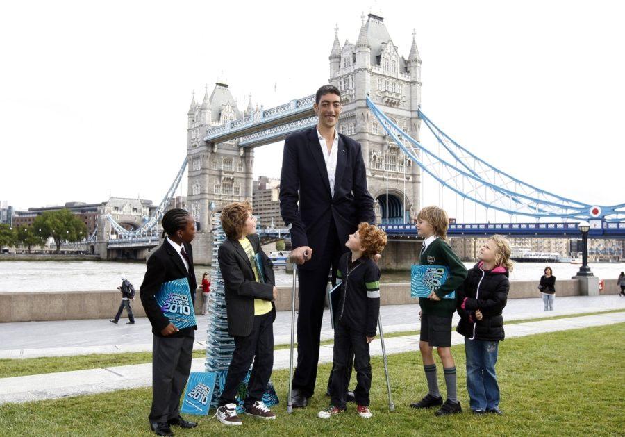 самый высокий человек на планете