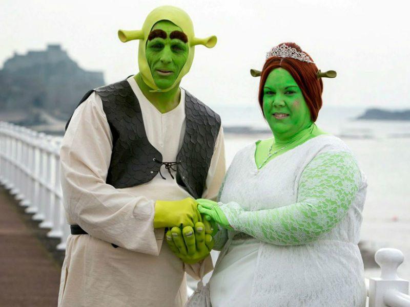шрэк и фиона свадьба