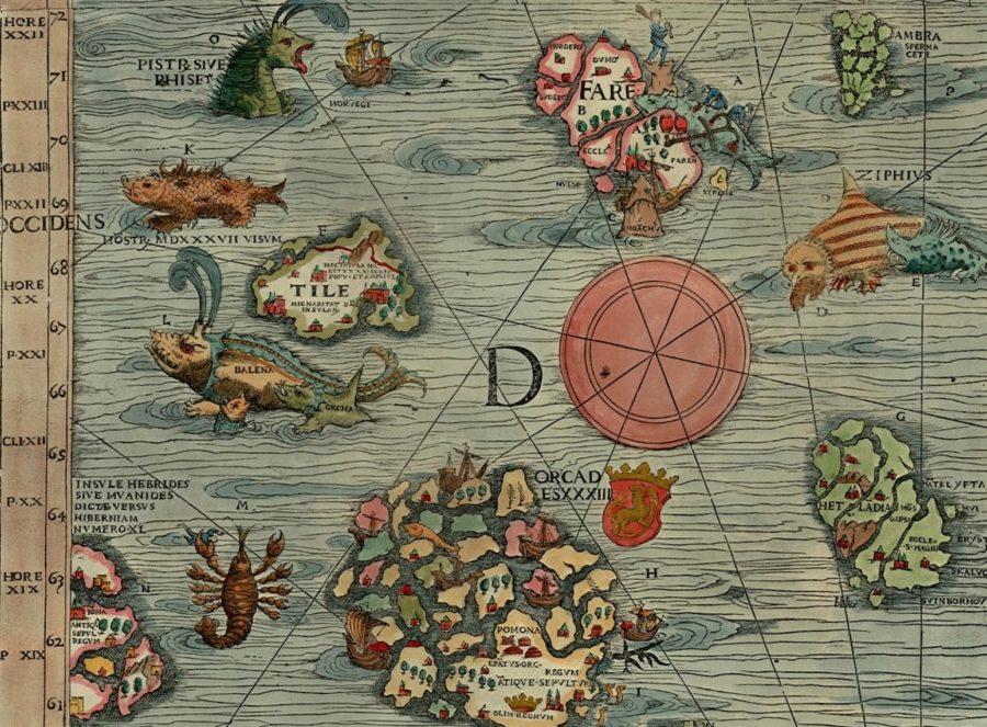 сказочные страны. Остров Туле на древних картах