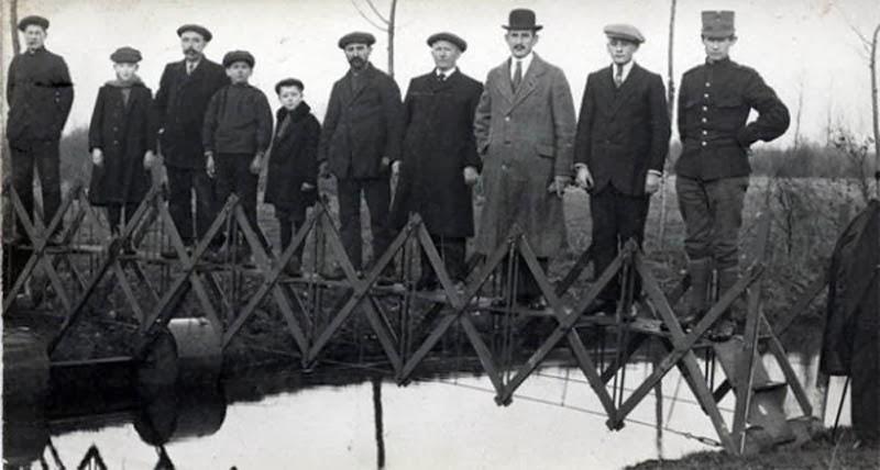 складной мост