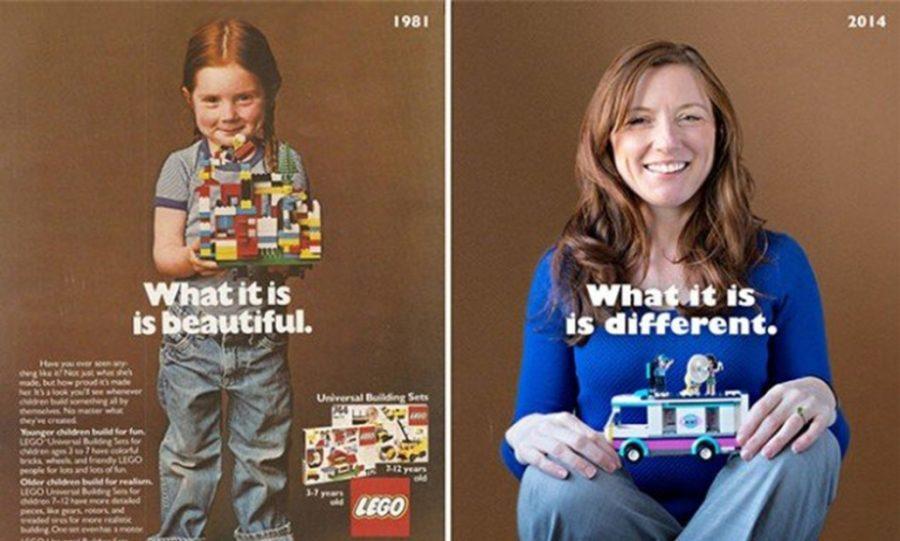 Рейчел Джиордано в рекламе «Lego»