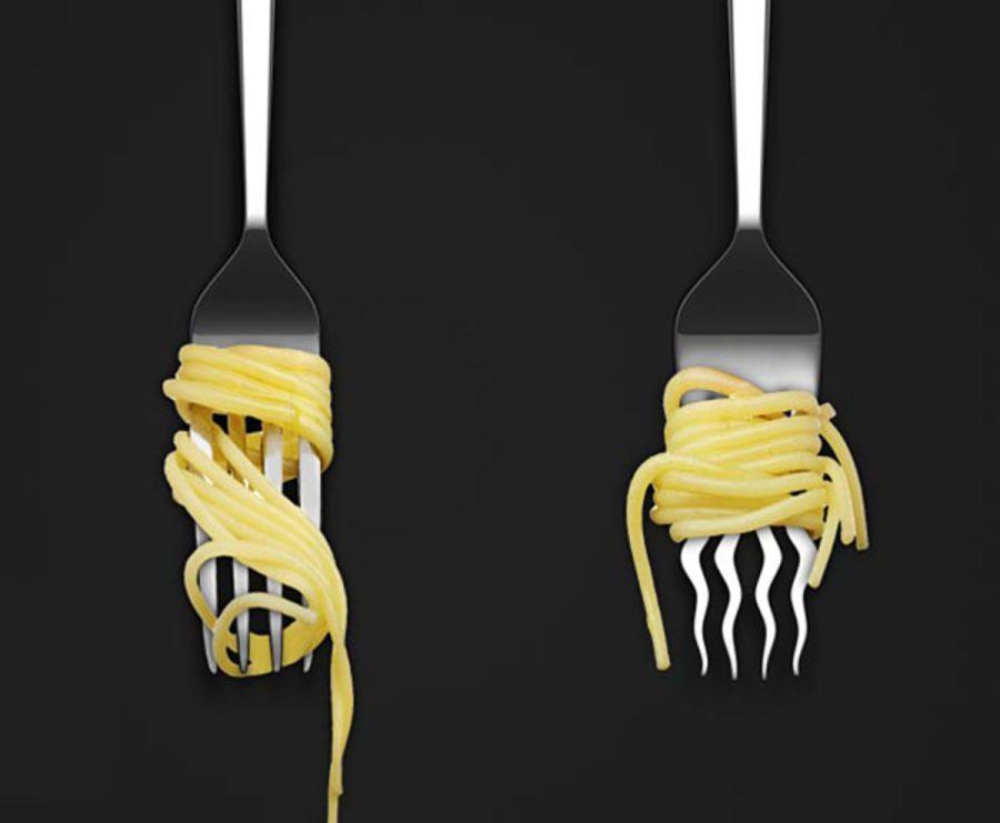 вилка для спагетти