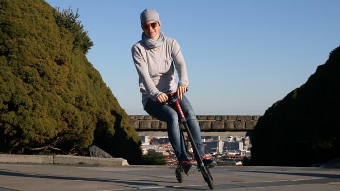Wheela scootbike