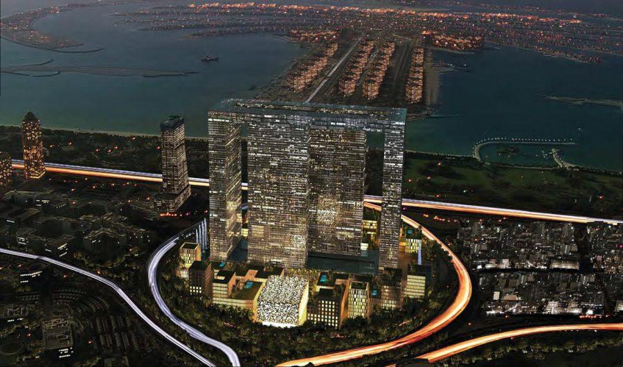 здания. Dubai Peri