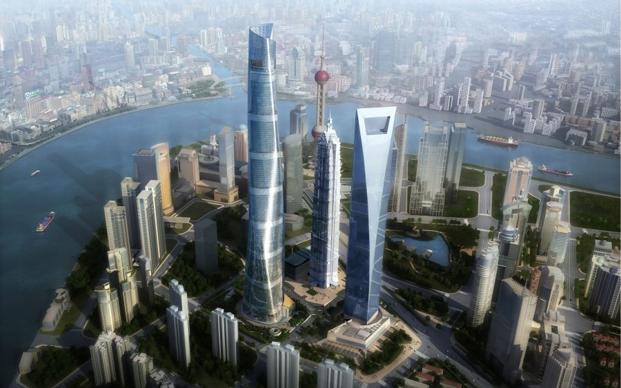 здания. Шанхайская башня