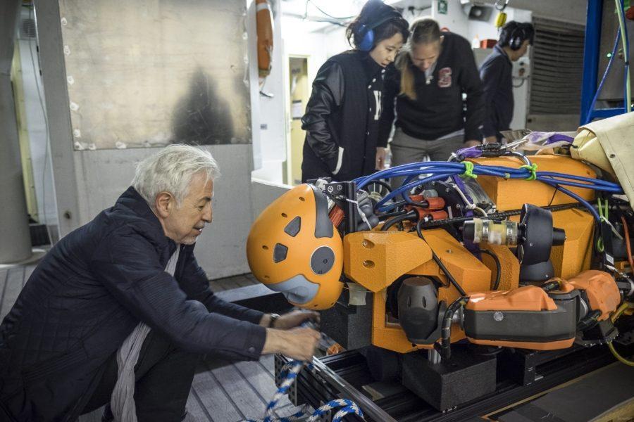 Робот OceanOne