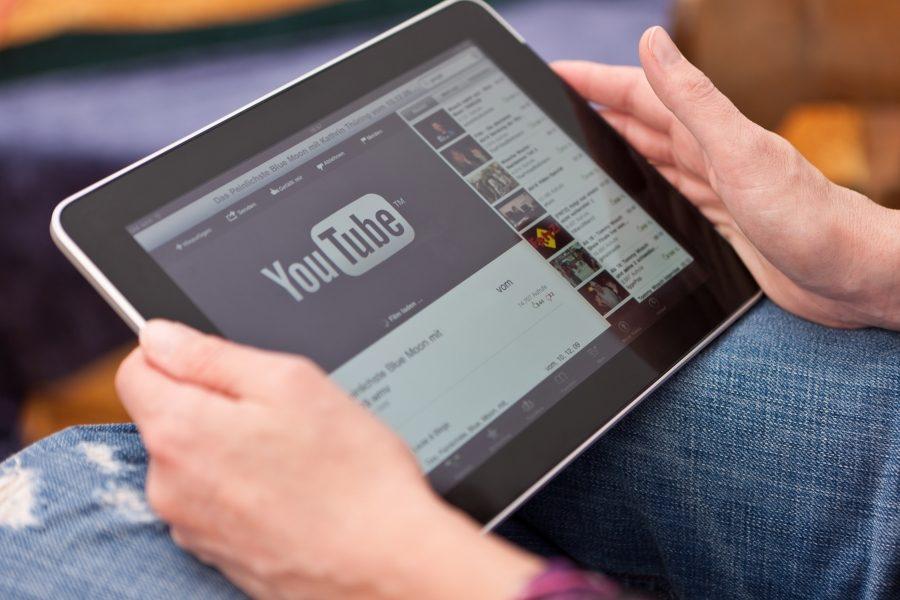 планшет, YouTube