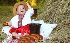 славянский мальчик