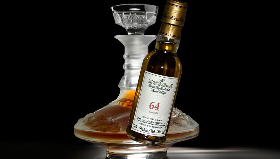 Macallan 64 Year Old в Lalique