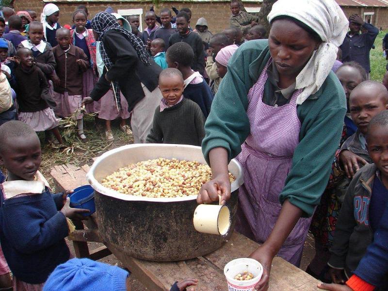 ланч в кении
