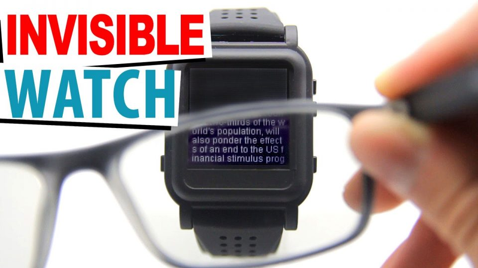 invisible watch