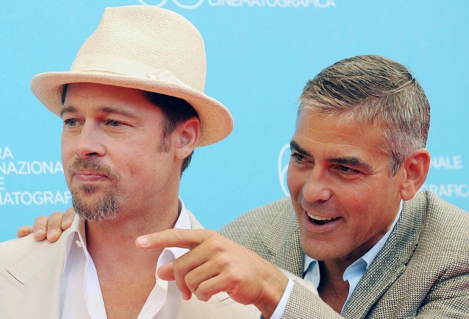 Джордж Клуни и Брэд Питт