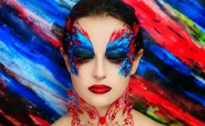 креативный макияж для фотосессии