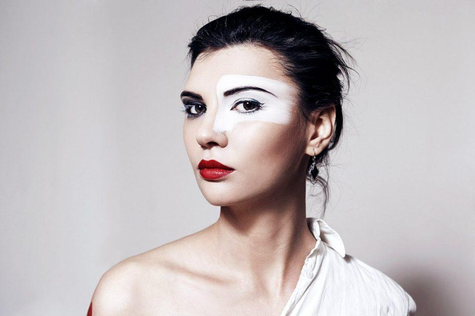 Креативный make-up