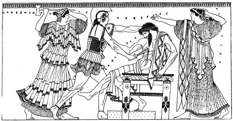 Убийство царя Агамемнона