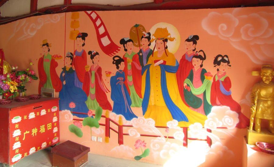 Китайская фреска