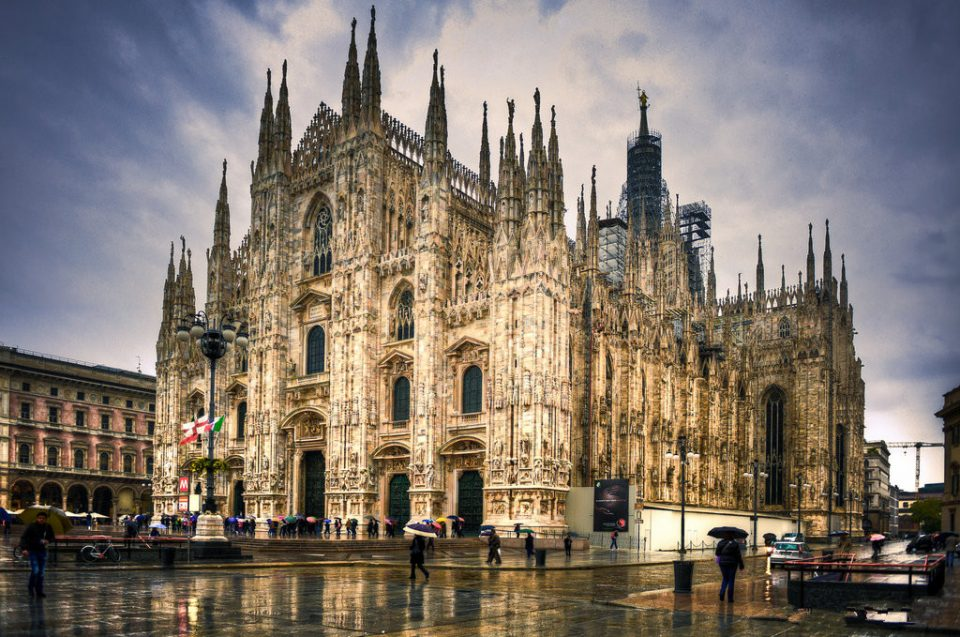 достопримечательности. Миланский собор