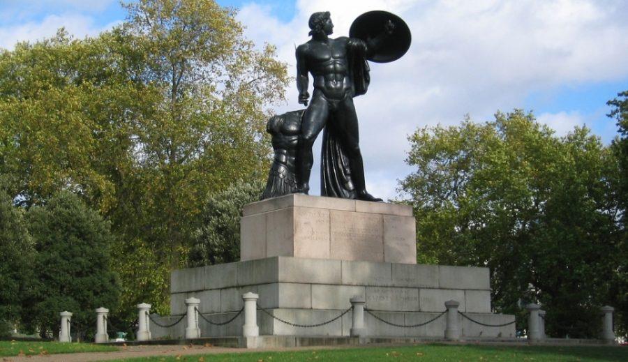 достопримечательности. Статуя Ахиллеса в Гайд-парке