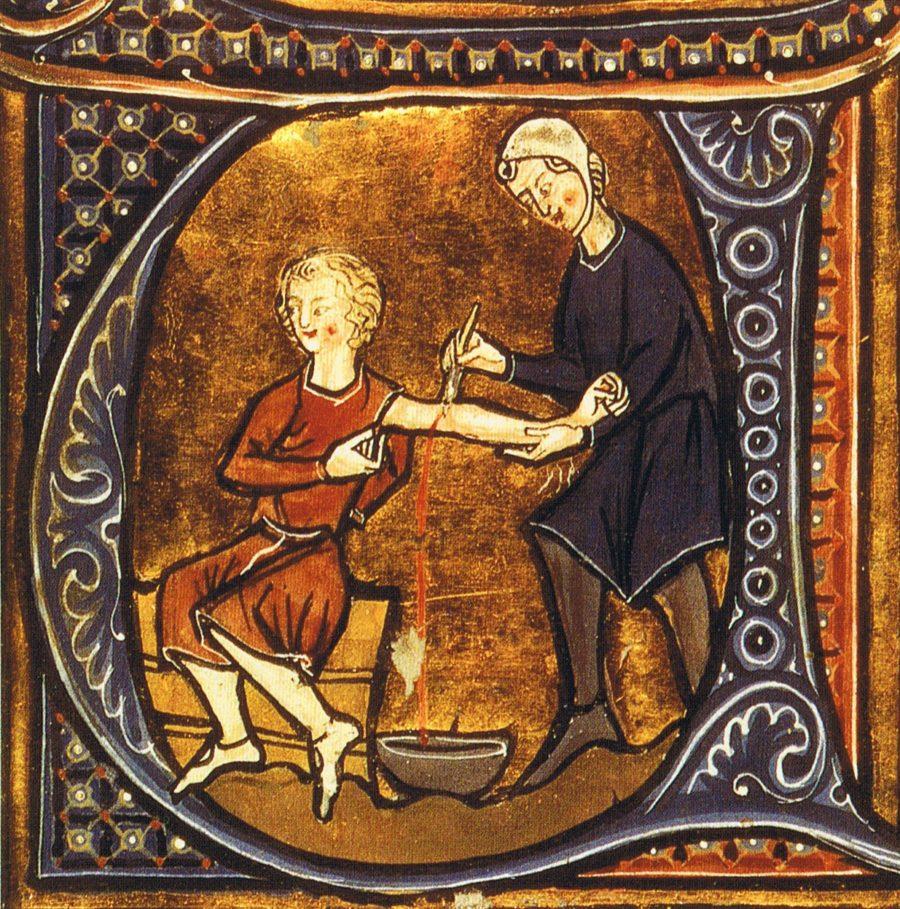 гомеопатия. Кровопускание
