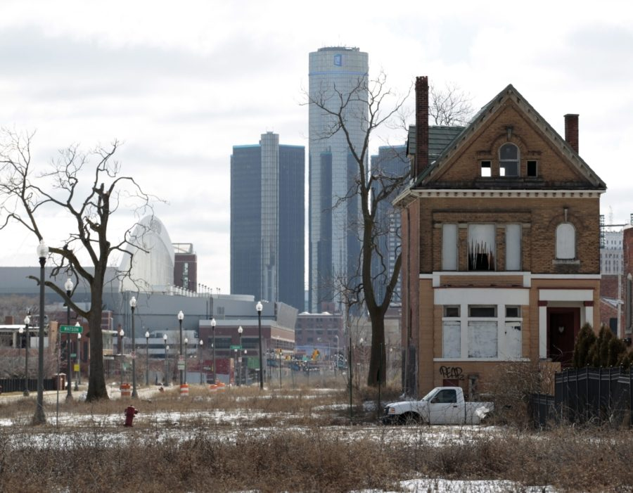 города-призраки. Детройт