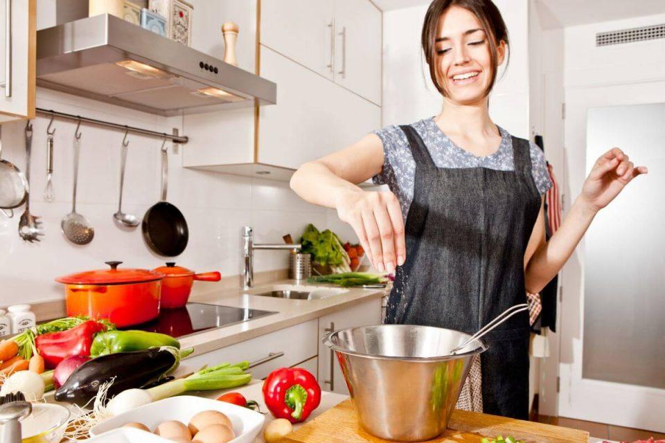 пряности на кухне