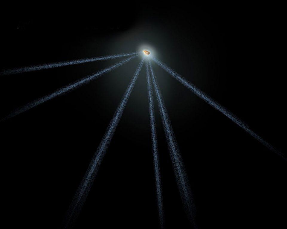 космические открытия. Астероид с шестью хвостами