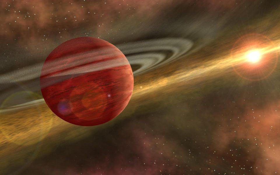 космические открытия. Отдаленный монстр HD 106906b