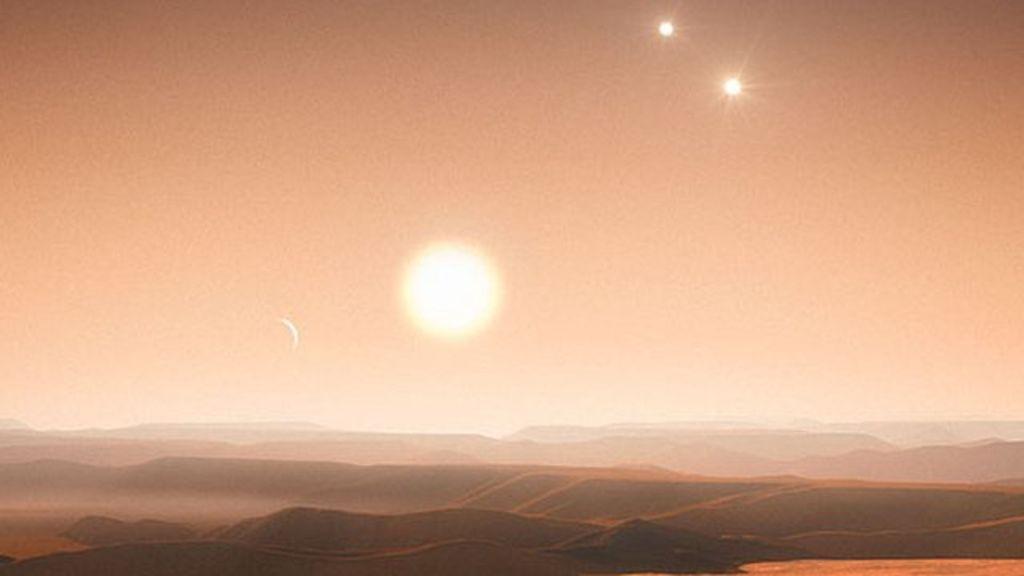 космические открытия. Трехзвездная система KIC 2856960