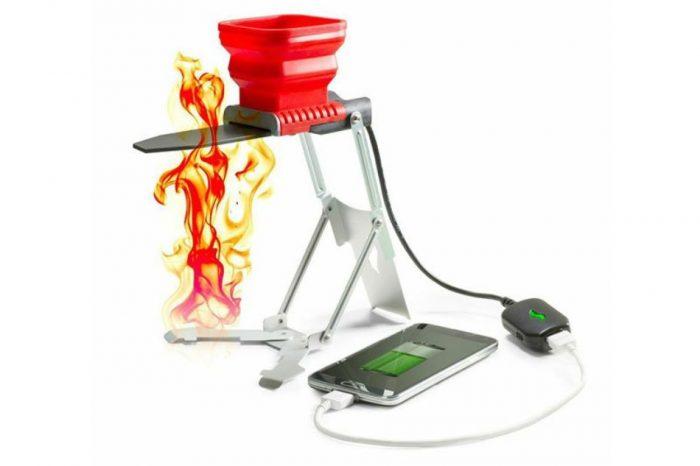 FlameStower — термозарядка работающая от огня