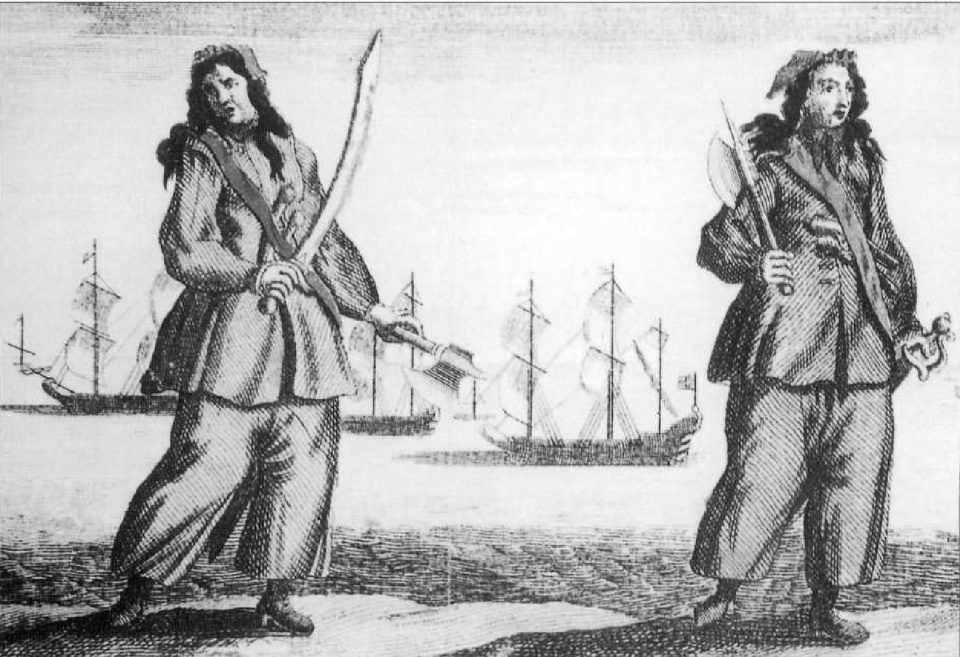 Mary Read и Anne Bonny
