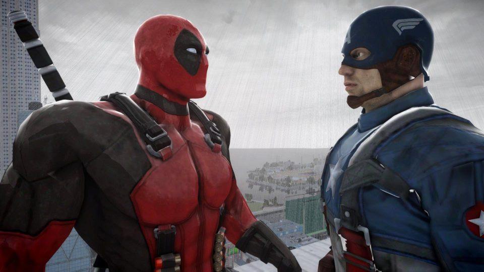 Дэдпул и Капитан Америка