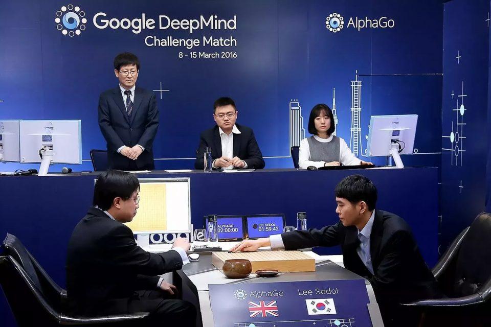 открытия. Победа над человеком программы AlphaGo