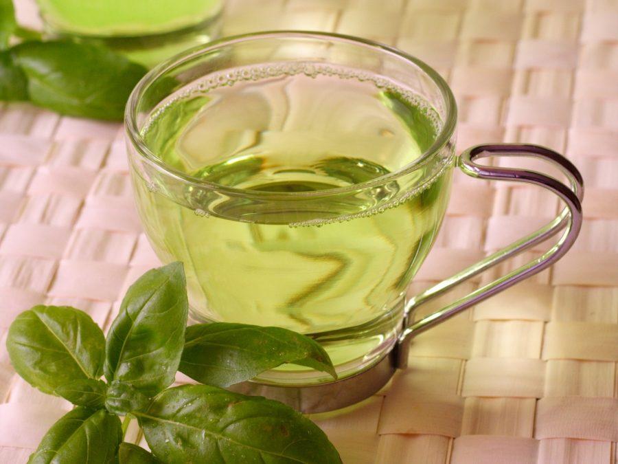 продукты. зеленый чай