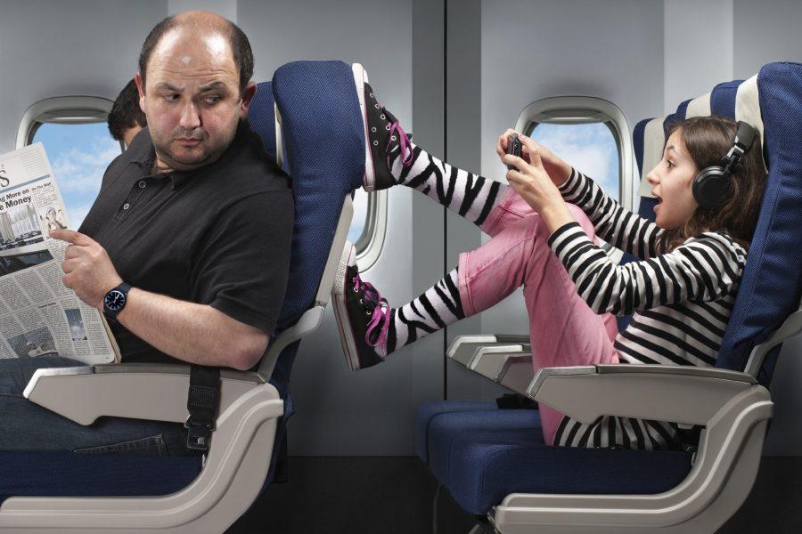 соседи в самолете