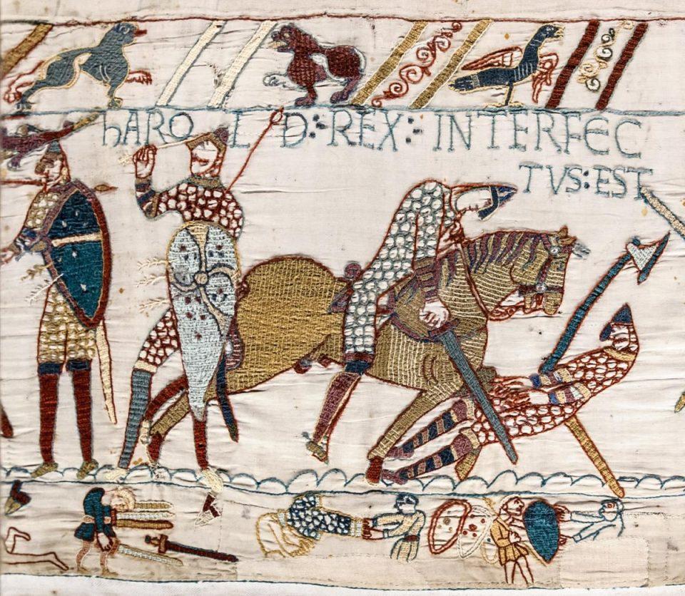 тату. Король Гарольд II. Битва при Гастингсе