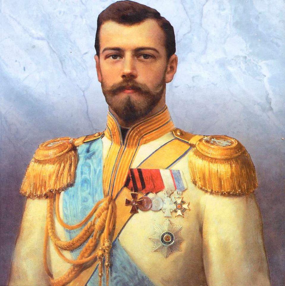 тату. Российский император Николай II