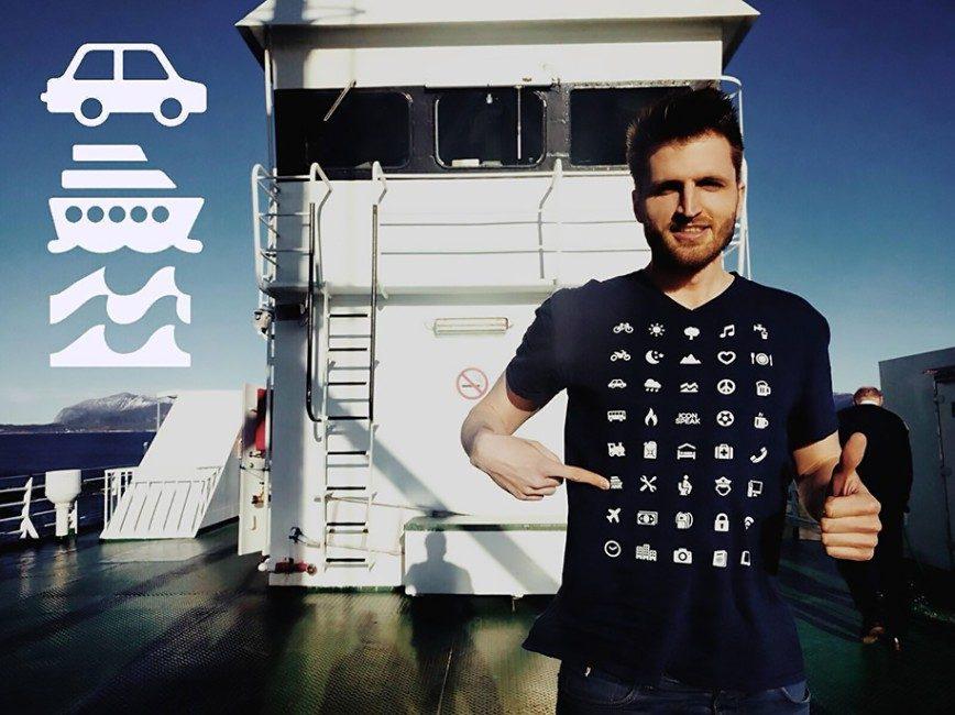 умная футболка