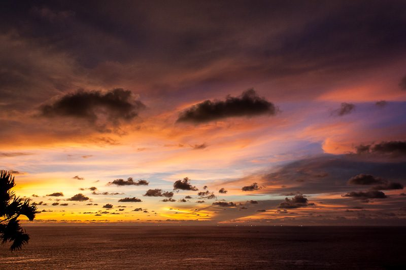 закаты. Остров Пхукет. Мыс Промтеп