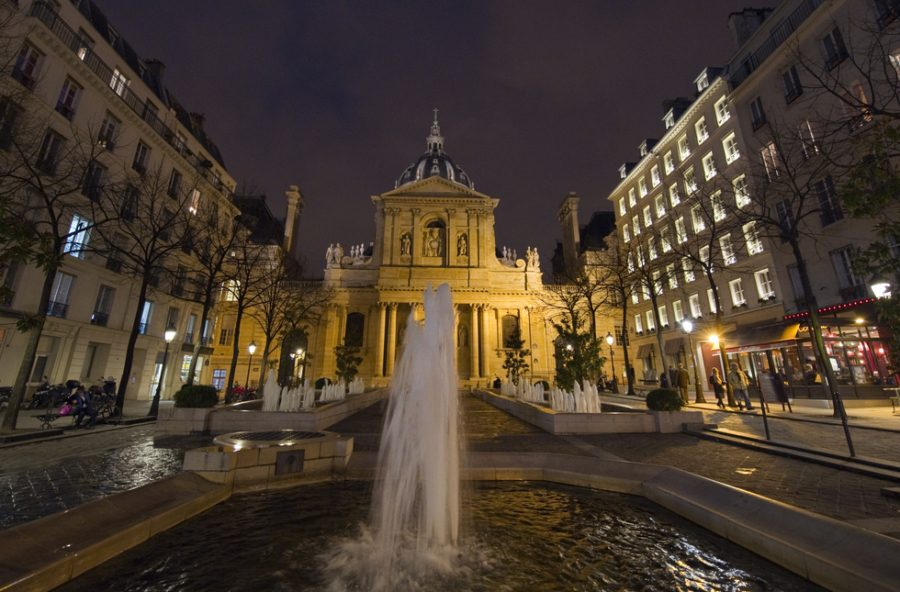 Сорбонна достопримечательности Парижа