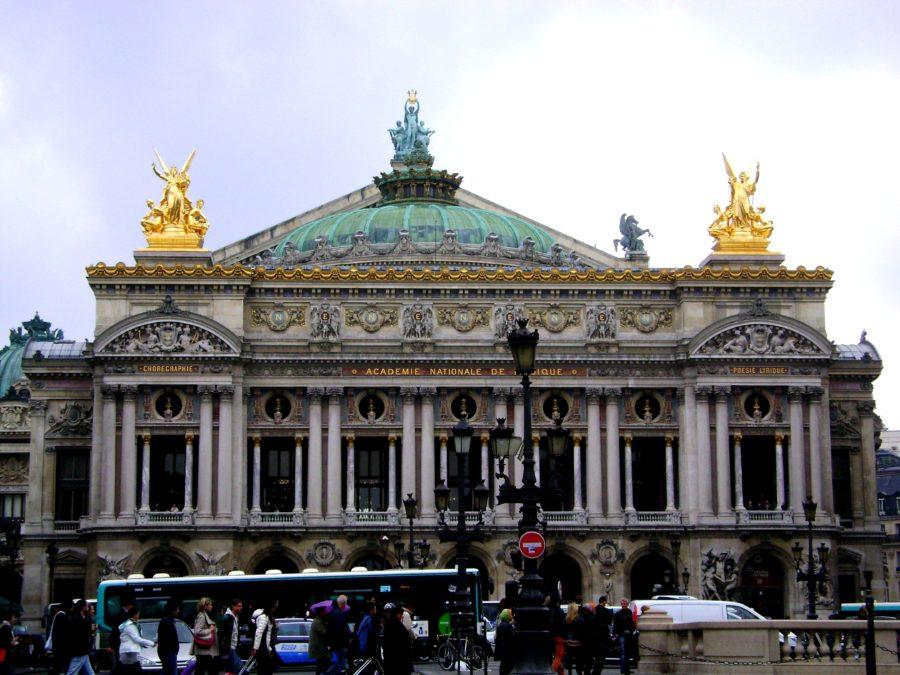 Гранд опера достопримечательности Парижа