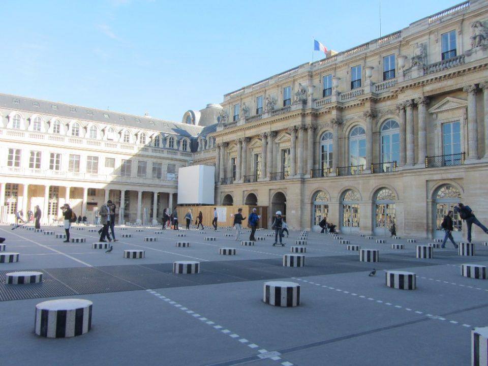 Пале-Рояль достопримечательности Парижа