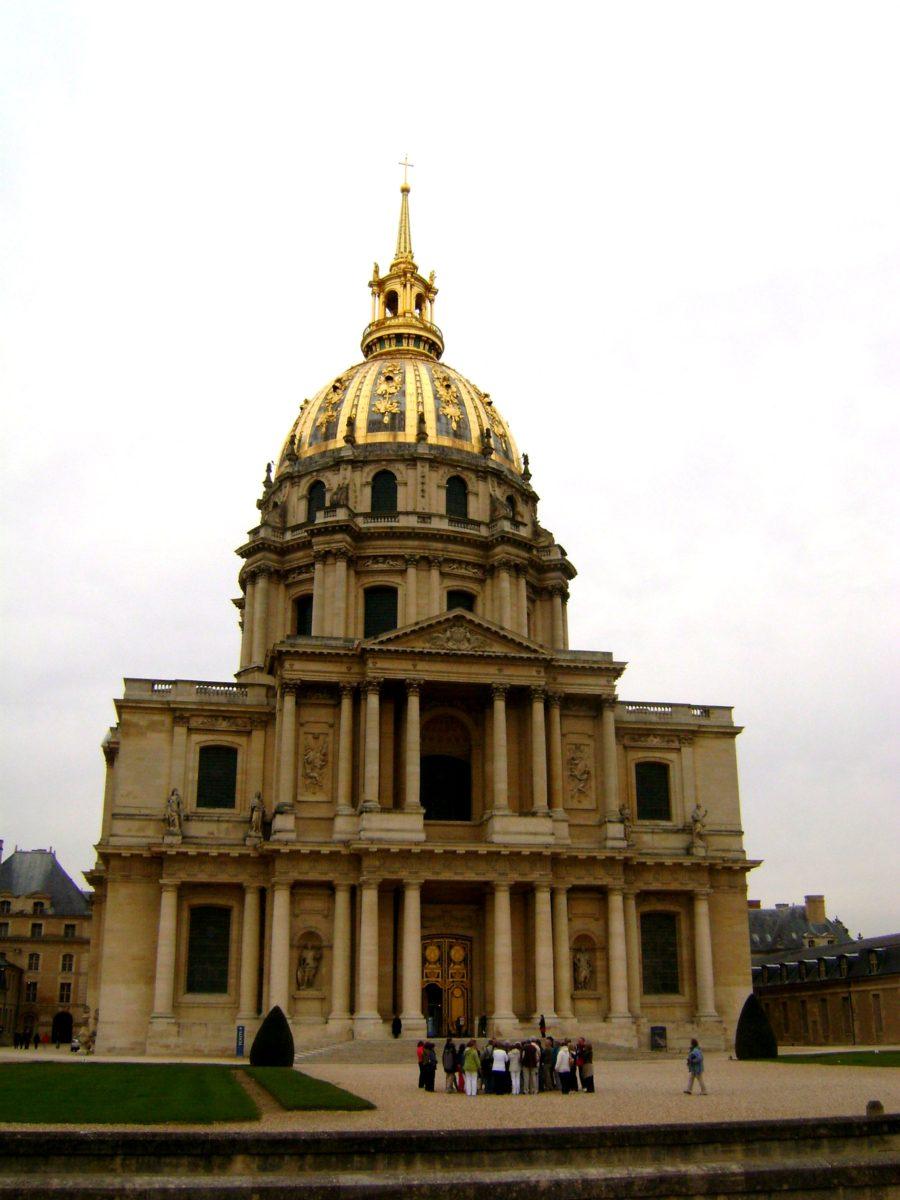 Дом инвалидов достопримечательности Парижа