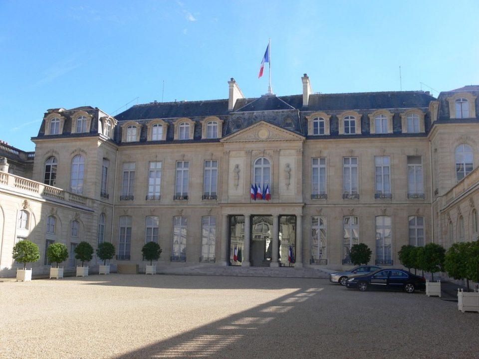 Елисейский дворец достопримечательности Парижа