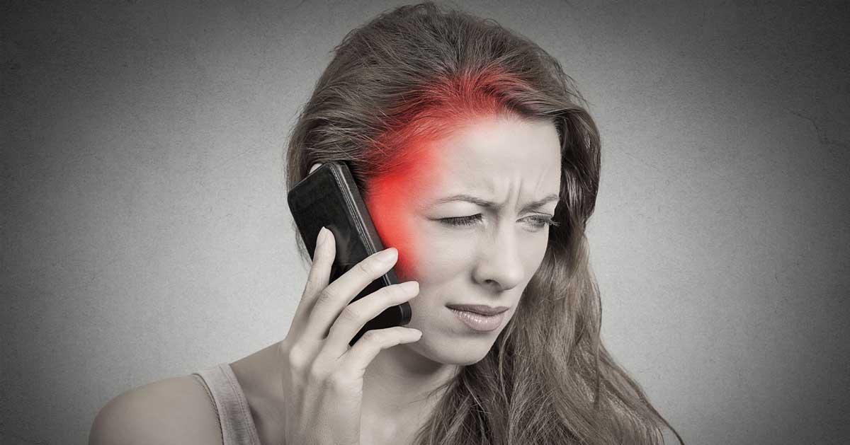 разговор по телефону и рак