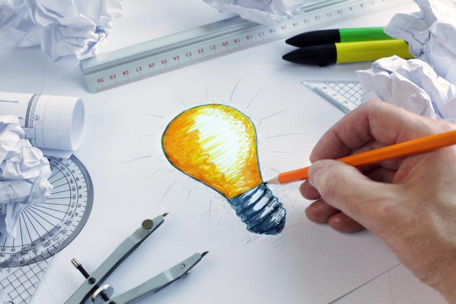 рисунок дизайнера