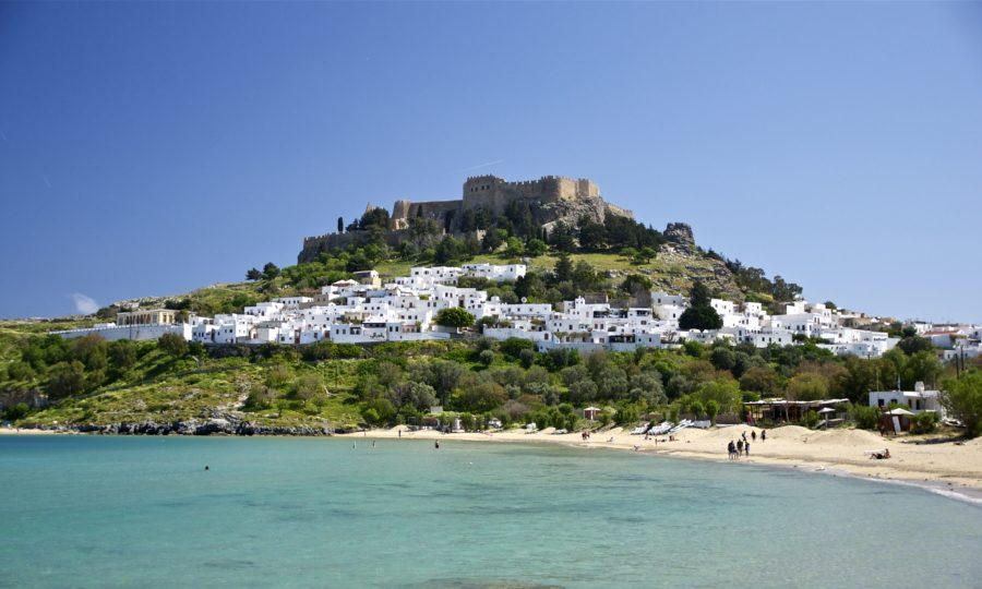 остров Родос крепость