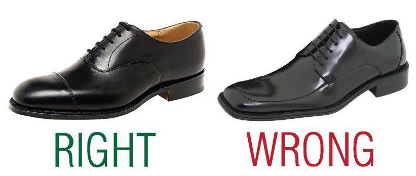 старомодные туфли