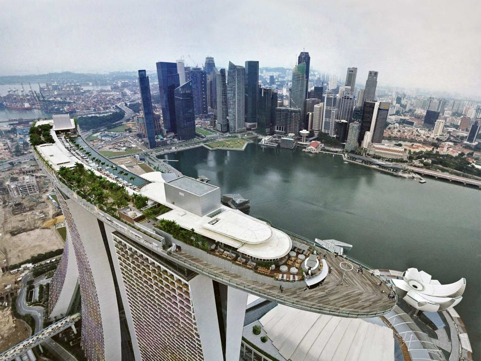 Маринабей Сэндз Скайпарк в Сингапуре